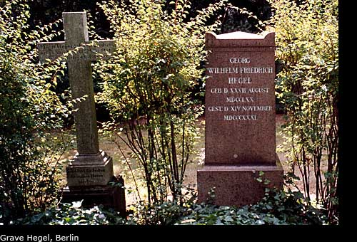 The grave of Hegel, Berlin, Germany